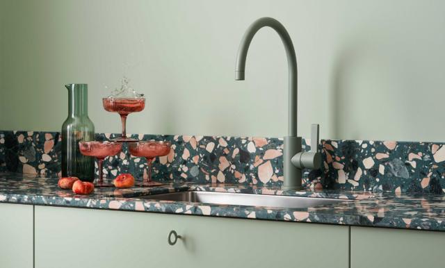 Kolla in de nya färgstarka köken från Marbodal!