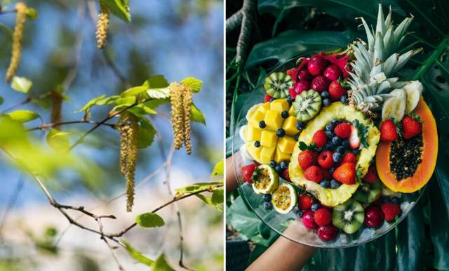 Här är frukten som kan lindra din vårallergi