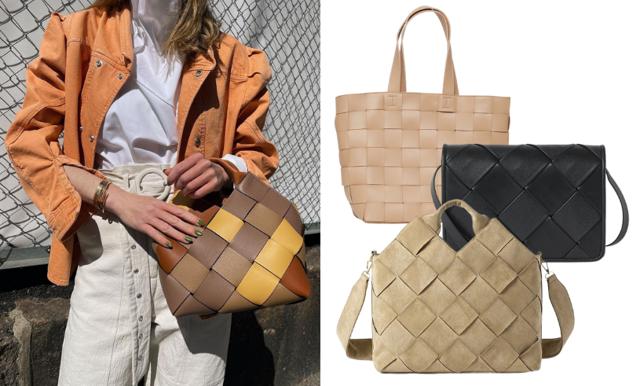 Trendspaning – i sommar är det flätade väskor som hänger över axeln