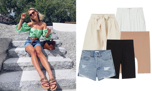 Cykelbyxan, jeansshortsen och kostymshortsen – här är 16 av sommarens trendigaste shorts