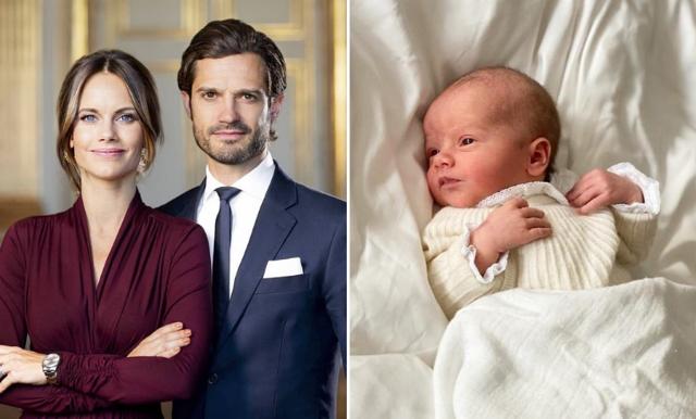 Babylycka i kungahuset – Prinsessan Sofia och Carl-Philip har fått ännu en son