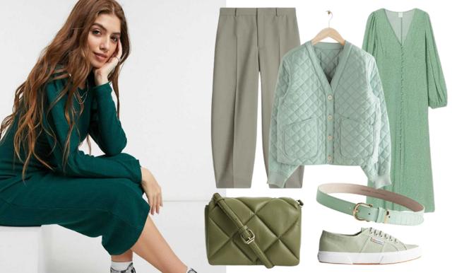 Vi älskar grönt just nu – 17 klassiska plagg som lyfter garderoben