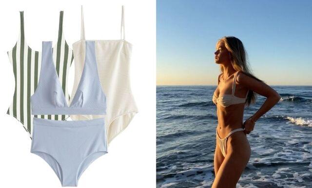 26 trendiga bikinis och baddräkter under 500 kronor