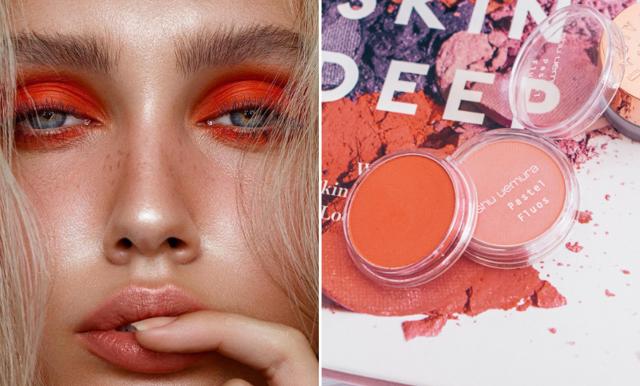Haka på vårens färgstarkaste sminktrend – Orange!