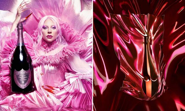 Dom Pérignon i samarbete med Lady Gaga – kolla in de coola bilderna!