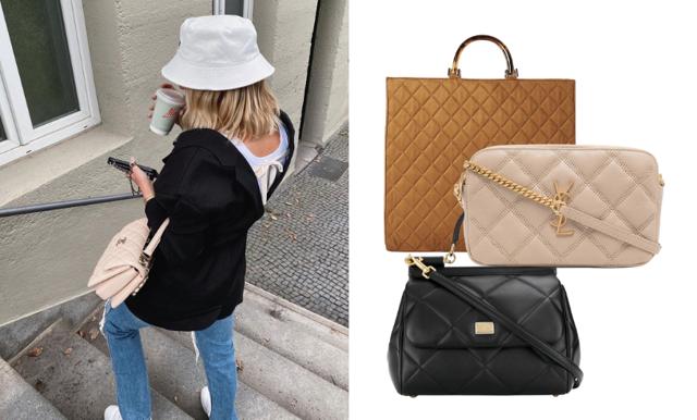 Quiltade väskor är här för att stanna – 30 favoriter från budget till lyx