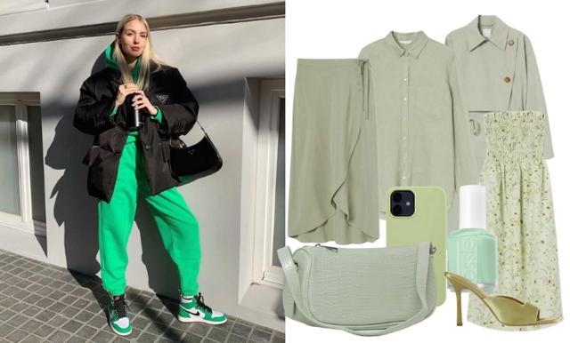 Metro Mode listar snyggaste plaggen i vårens trendfärg grönt