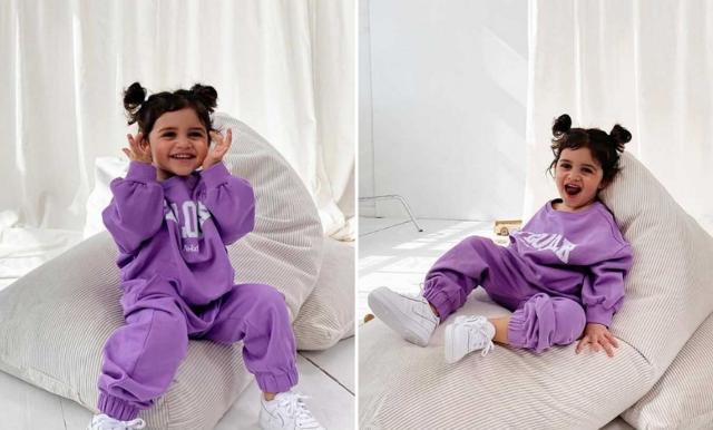 NA-KD börjar med barnkläder