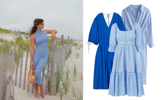 Möt sommaren i blått! Vi listar 29 klänningar i olika blå nyanser