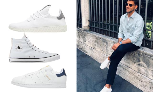Vita sneakers – snygga och stilrena favoriter
