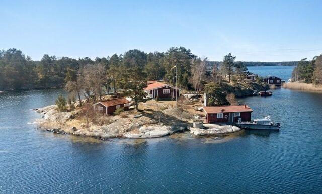 Skärgårdsidyllen i Stockholms skärgård – mest klickade på Hemnet just nu