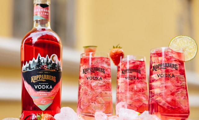 Kopparberg lanserar vodka med somrig smak av jordgubb och lime! Vi listar 2 goda drinkrecept