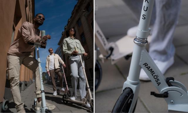 Enkelt, smidigt och bra för hälsan – bendrivna sparkcyklar dyker upp i Stockholm