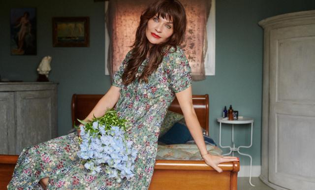 Helena Christensen gör comeback – hos Odd Molly