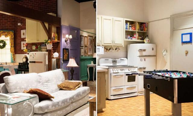 Nu kan du övernatta i  lägenheten från Friends
