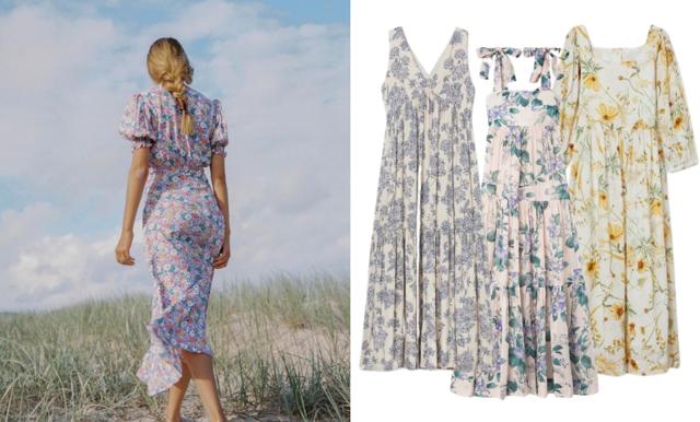 Blommiga klänningar –  fina modeller för sommarens alla tillfällen