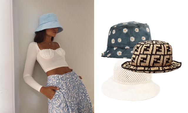 Trendigaste solskyddet – the bucket hat är här för att stanna