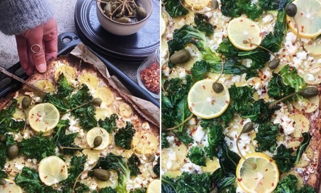 Bjud vännerna på smarrigaste pizzan med smak av medelhavet