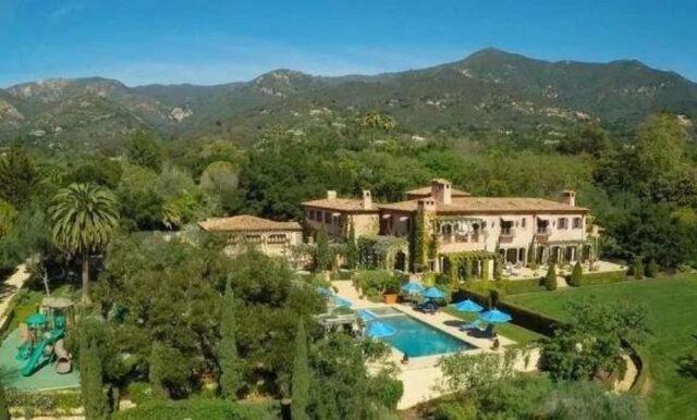 Spana in Harry och Meghans otroliga villa i Montecito