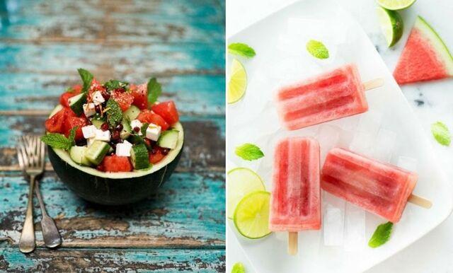 Vattenmelon –  7 recept med sommarens godaste ingrediens