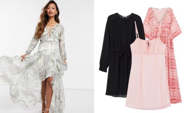 30 vackra klänningar i skir chiffong