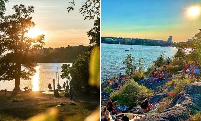 Här hittar du Stockholms 11 bästa badplatser att besöka i sommar