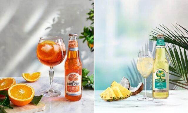 Läskande nyhet – Somersby lanserar drinkar i cidertappning