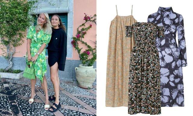 Blommiga klänningar – 39 favoriter i butik nu