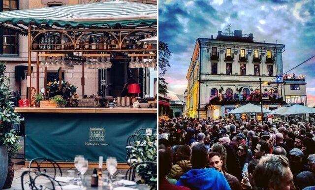 10 soliga uteserveringar i Stockholm
