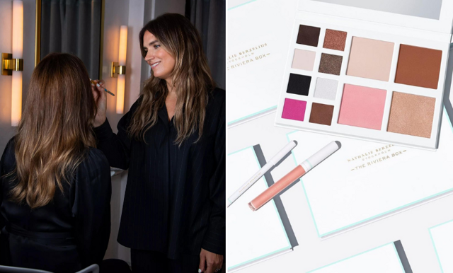 Nathalie Berzelius lanserar eget makeupmärke – med perfekt palett!