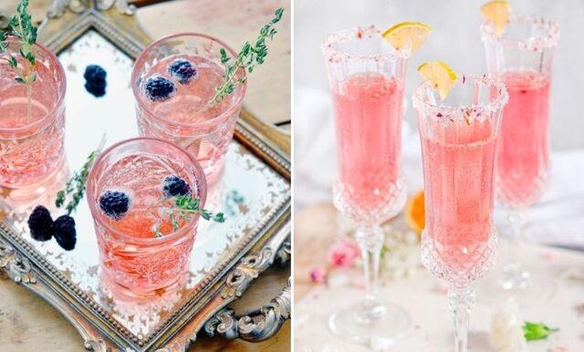 Roséchampagne – 6 lyxiga och vackra drinkar med smak av sommar