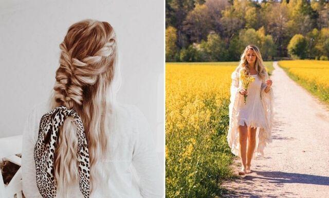 11 bohemiska och finaste frisyrerna att ha på midsommar