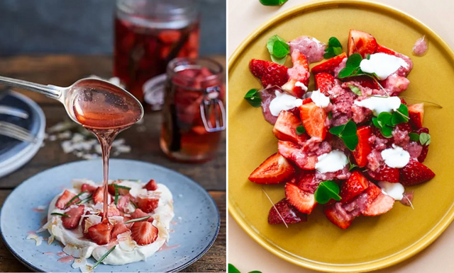 Fira nationaldagen med somriga jordgubbsdesserter