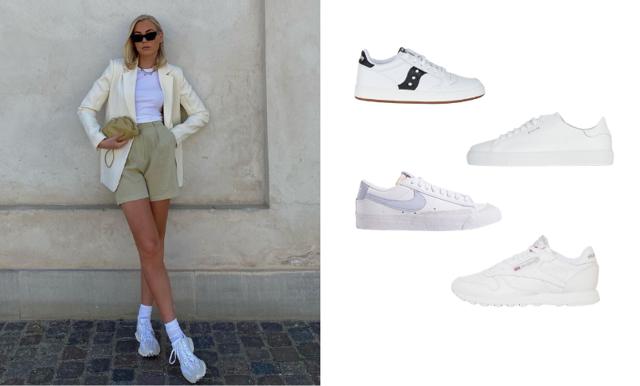 Sommarens 35 snyggaste vita sneakers