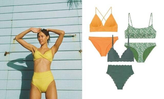 30 trendiga och smickrande bikinis för sommaren