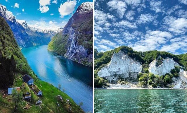 Upptäck de vackraste platserna i Skandinavien