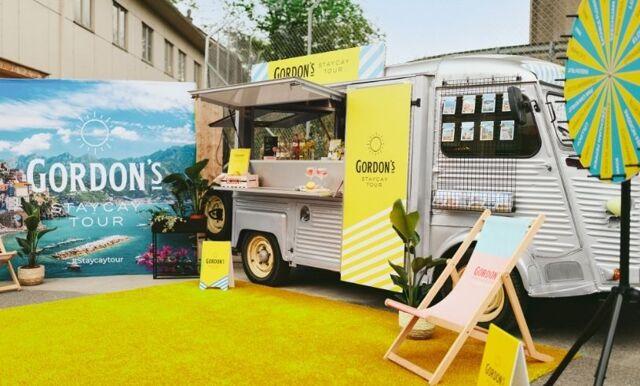 Gordon's G&T-truck är tillbaka – här är alla stoppen i sommar