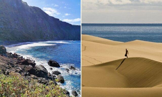 Kanarieöarna – vi listar de 10 bästa stränderna