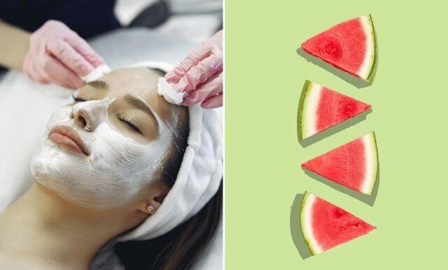 Vattenmelon, potatis och honung – få superglow med hemmagjord ansiktsmask