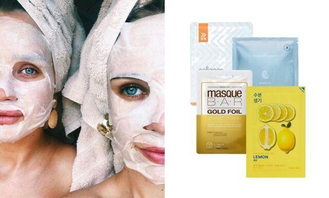21 sheet masks som återfuktar huden och ger fint glow