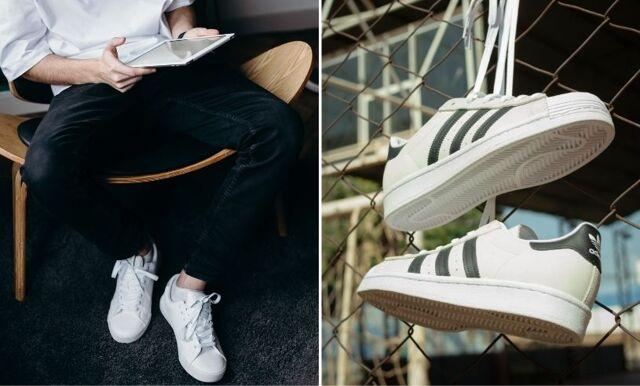 Rengör sneakers – så får du dina vita skor vita igen
