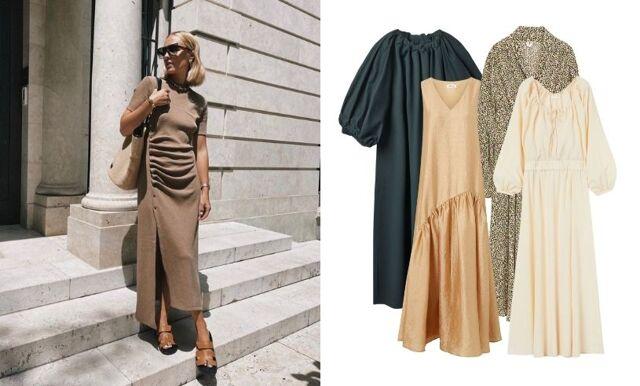 35 stilrena maxiklänningar att bära hela hösten