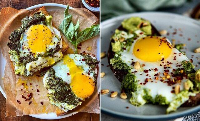Testa senaste mattrenden på TikTok – Pestoägg