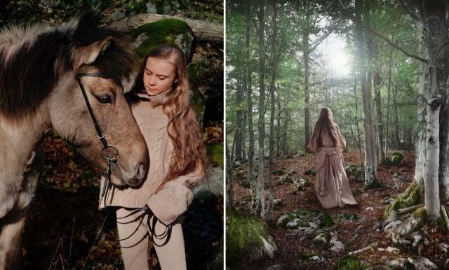 Greta Thunberg pryder Vogues omslag