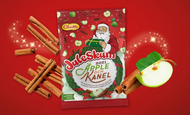 Juleskum 2021 – spana in årets nya smaktwist från Cloetta