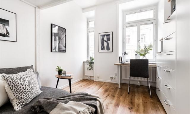 Sveriges minsta lägenhet till salu – med 14 välplanerade kvadratmeter