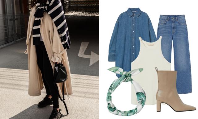 5 snygga outfits från H&M med en exklusiv känsla
