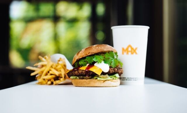 Nytänkande smaker i MAX nya hamburgare