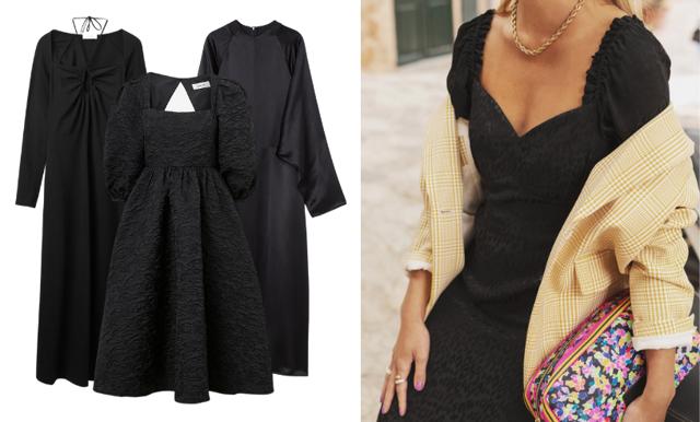 Festklänningar i svart – vi listar 19 favoriter