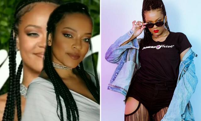 TikTokaren som ser precis ut som Rihanna